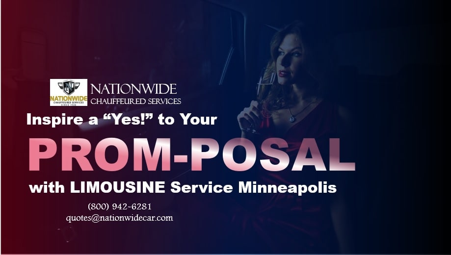 """Inspire a """"Yes!"""" to Your Prom-posal with Limousine Service Minneapolis"""