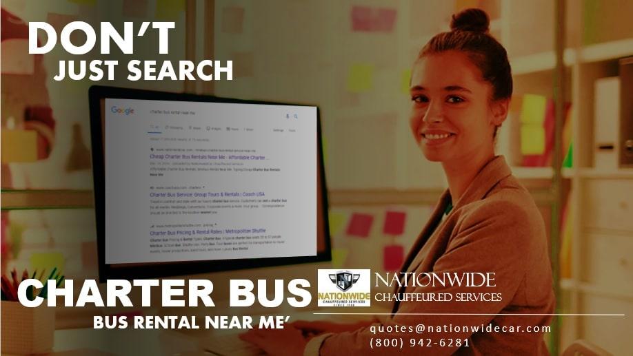 Affordable Charter Bus Rental