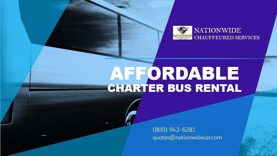 Affordable Charter Bus Rental