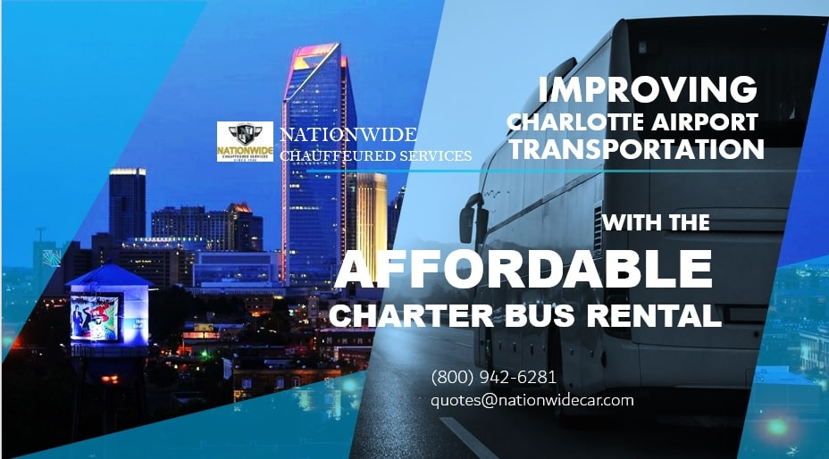 Improving Charlotte Airport Transportation with the Affordable Charter Bus Rental