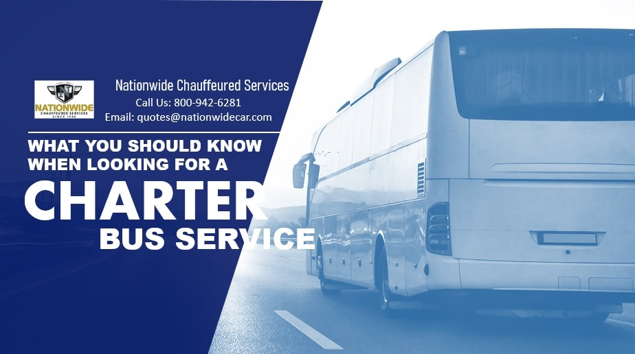 What You Should Know When Looking for Charter Bus Services