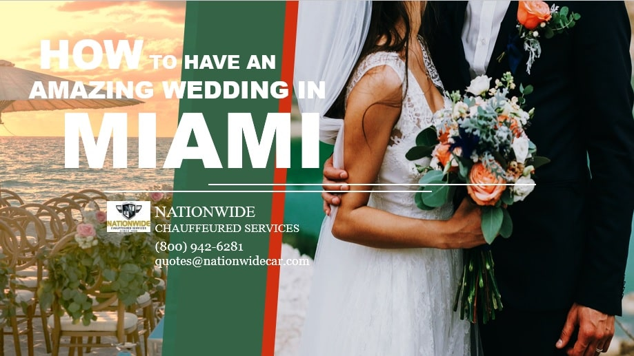 How to Have an Amazing Wedding in Miami by Miami Charter Bus Rental