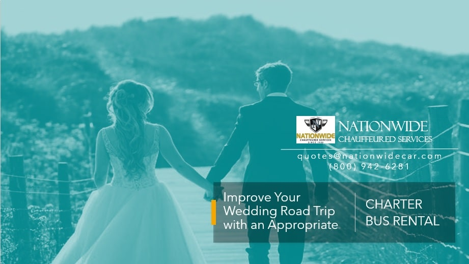 Improve Your Wedding Road Trip with an Appropriate Charter Bus Rental