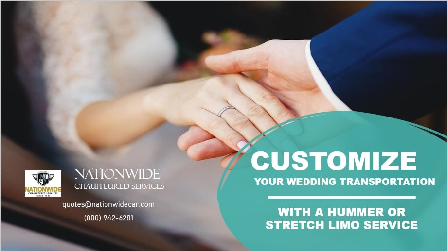 Customize Your Wedding Transportation with a Hummer or Stretch Limo Service