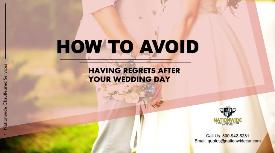 How to Avoid Having Regrets After Your Wedding Day By Cincinnati Charter Bus