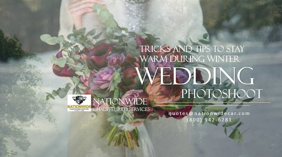 Tricks and Tips to Stay Warm During Winter Wedding Photoshoot