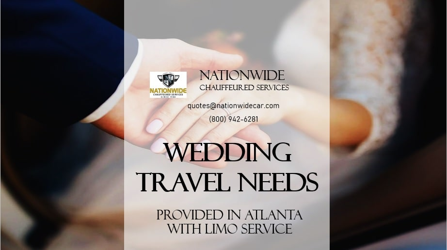 Wedding Travel Needs Provided in Atlanta with Limo Service