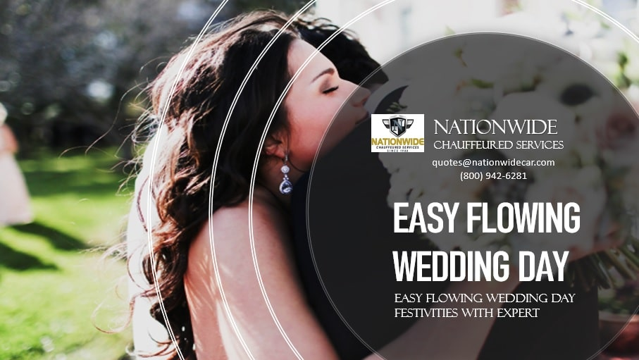 Easy Flowing Wedding Day Festivities with Expert Limo Service near Me