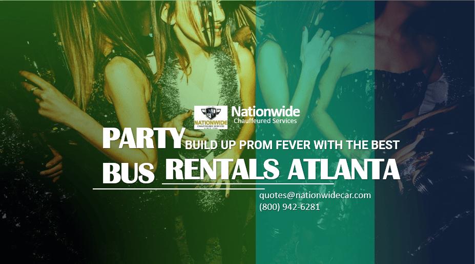 Build Up Prom Party Bus Rentals Atlanta
