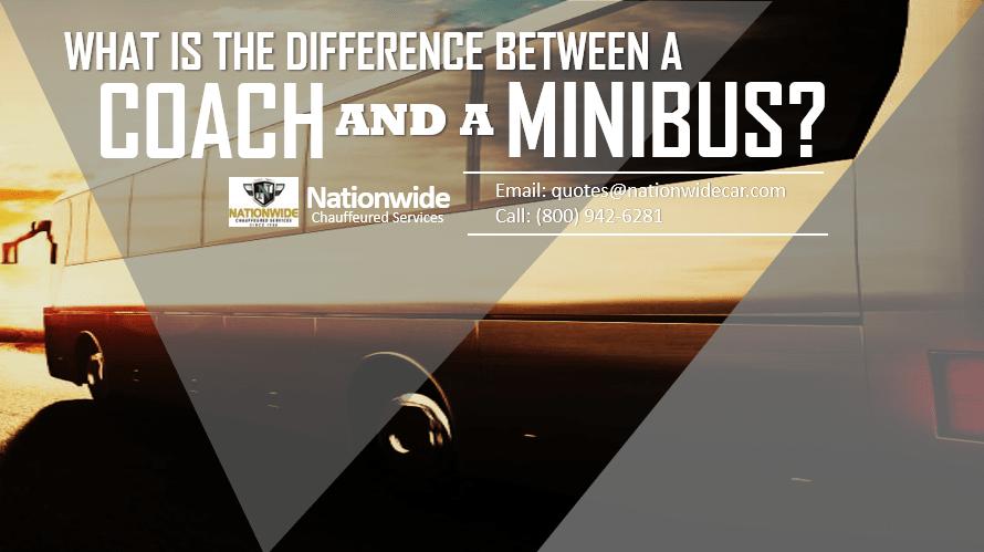 Coach and A Minibus