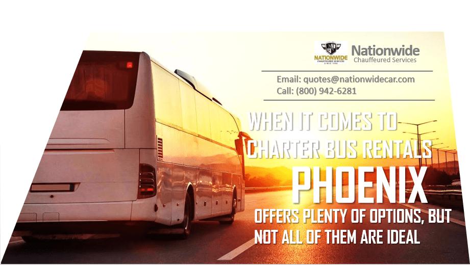 Charter Bus Rentals Phoenix